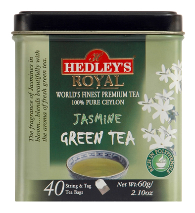 Hedley`s Royal Jasmine Green Tea