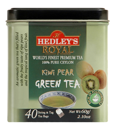 Hedley`s Royal Kiwi Pear Green Tea