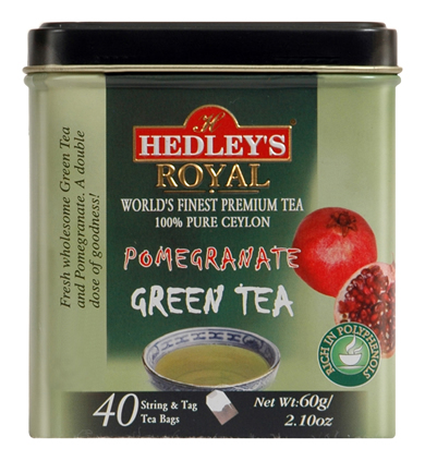 Hedley`s Royal Pomegranate Green Tea