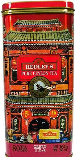 Hedley`s 80ct Metal Can